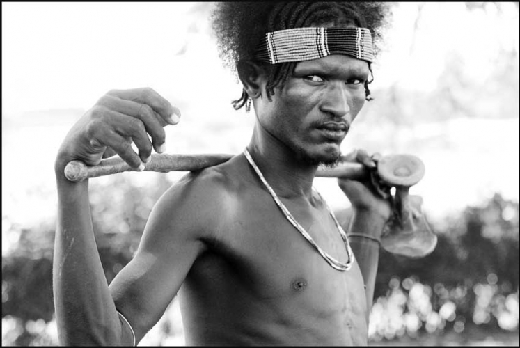 MAN OF THE DASSENCH TRIBE