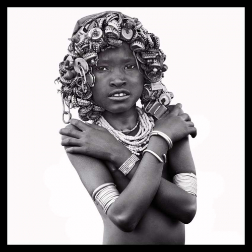 GIRL OF THE DASSENCH TRIBE