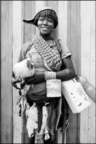 WOMAN OF THE HAMER TRIBE