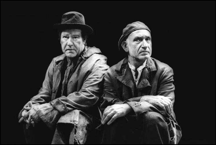 ALAN HOWARD AND BEN KINGSLEY IN WAITING FOR GODOT 1997